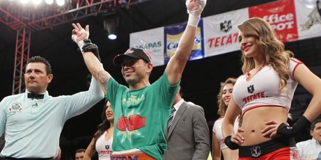 Gana 'Cochulito' Montiel por KO en el primero