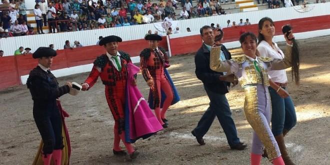 Triunfal festejo en Lagos de Moreno