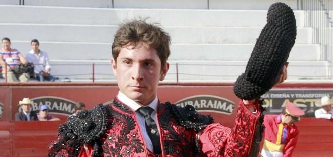 El novillero Diego Emilio está listo y dispuesto