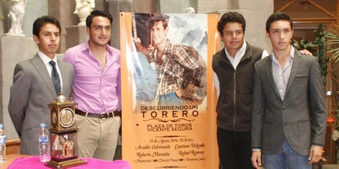 Presenta Pachuca carteles de 'Descubriendo un torero'