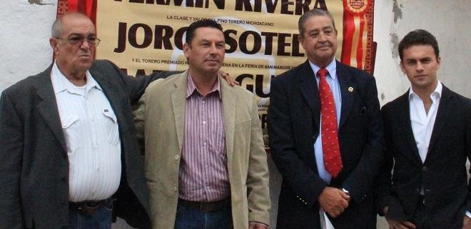Rivera, Sotelo y Aguilar, en Jesús María, el 11 de octubre