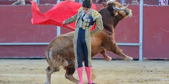 Cuaja dos faenas importantes novillero 'Armillita' en España
