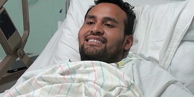 Operan de nuevo a Rojas por molestias respiratorias y cardiacas
