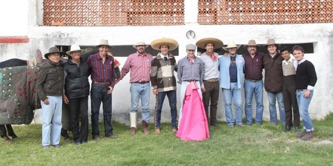 Tienta en la legendaria ganadería de Zacatepec