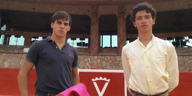 Caballero y Mendoza, listos para el mano a mano de Cinco Villas