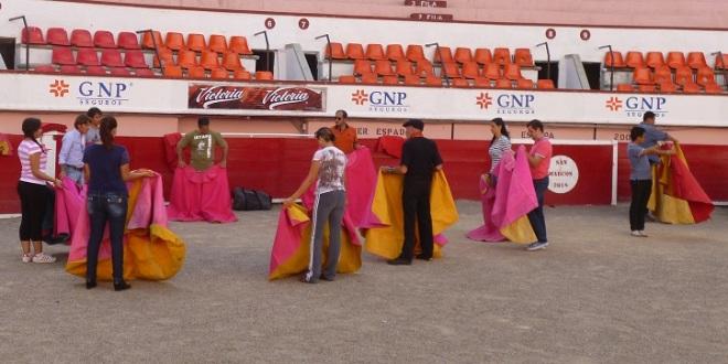 Darán clase práctica de tauromaquia en Aguascalientes