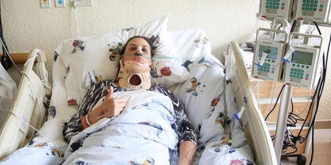 Sufre Mónica Serrano hemorragia interna cerebral