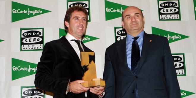 Recibe Pablo el premio Ciudadela de Pamplona
