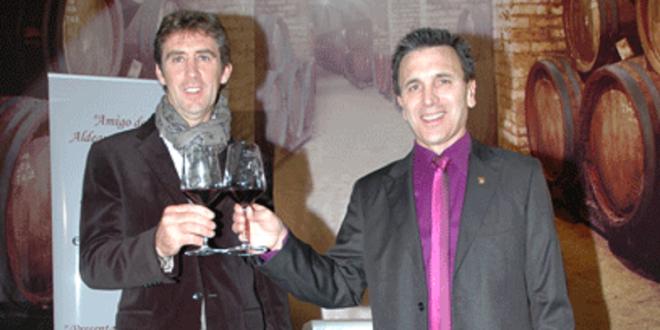 Pablo Hermoso de Mendoza, amigo del vino 2014