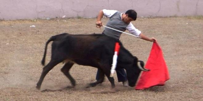 Luis Miguel Cuéllar se prepara en el campo bravo potosino
