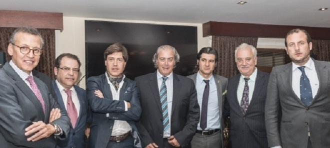 Homenaje del Club Taurino de Quito a 'Morante de la Puebla'