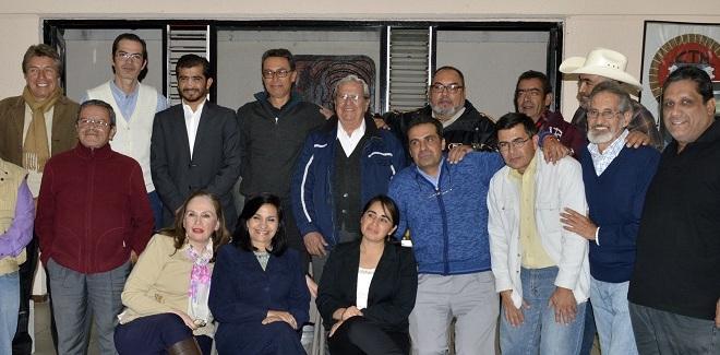 Primer aniversario de los colegas aguascalentenses