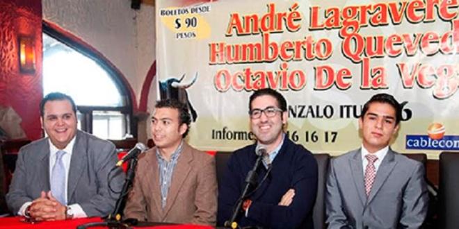 Anuncian novillada de año nuevo en Querétaro
