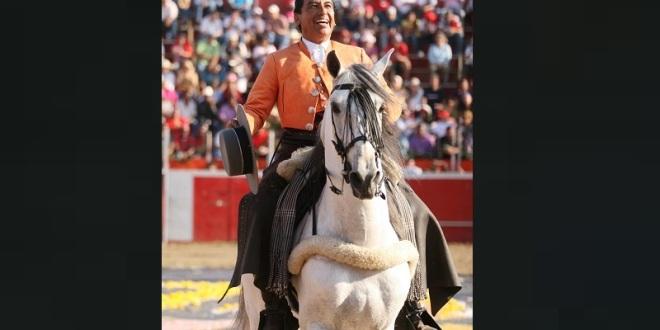 Enrique Fraga, de luto… Murió RUBENS su caballo estrella