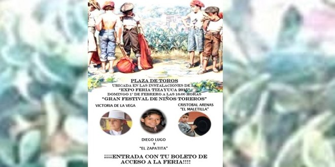 Anuncian festival taurino en TIZAYUCA