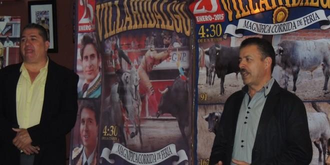 Atractivo y variado cartel para Villa Hidalgo