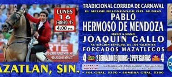 HERMOSO DE MENDOZA, en Mazatlán