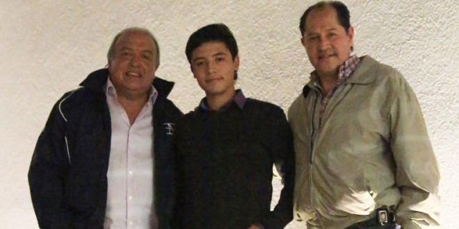 'EL BRILLANTE', nuevo apoderado del novillero Rodrigo Sebastián