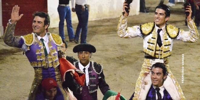 """Tarde triunfal de Macías, """"Calita"""" y San Fermín"""
