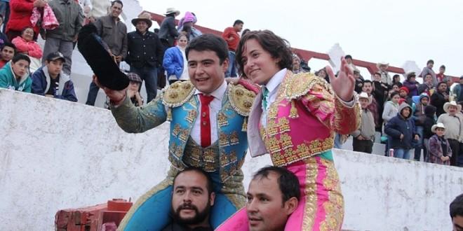 Festejo triunfal en Zimapán