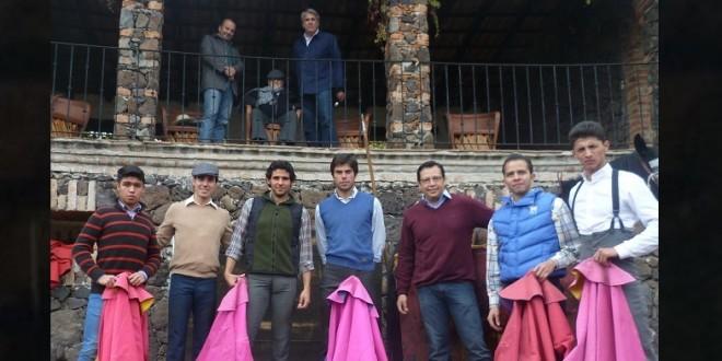 Tienta con don Gonzalo Martínez