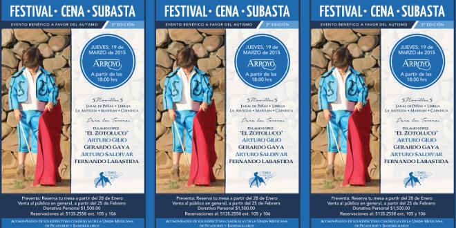 Todo listo para el festival del día 19 en Arroyo, EL TOREO SE VISTE DE AZUL