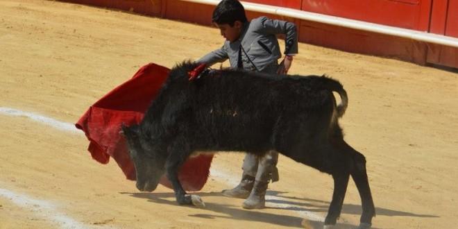 Propicia 'EL MALETILLA' festival taurino infantil en CINCO VILLAS, el 28 de marzo