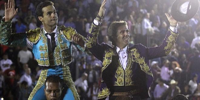 Triunfos de HERMOSO de MENDOZA y SÁNCHEZ, en Puebla