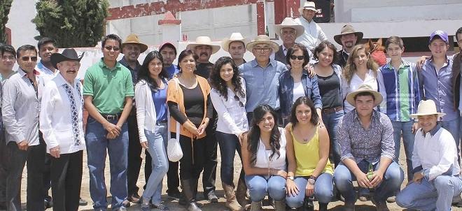 Día de campo en la ganadería de COYOTEPEC