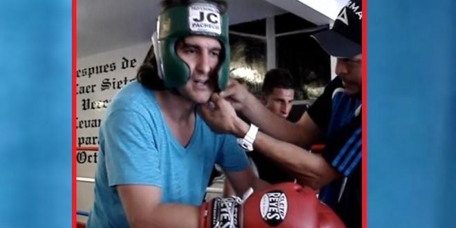 """""""Morante de la Puebla"""" y su gusto por el boxeo"""