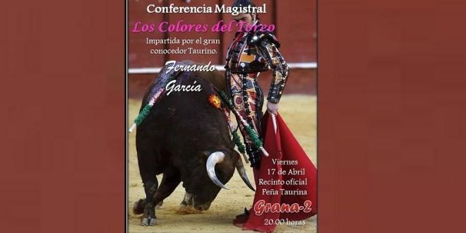 En TEHUACÁN, Puebla, conferencia de FERNANDO GARCÍA