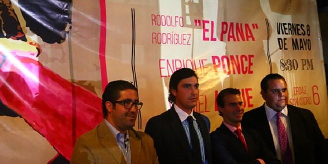 EL PANA, con Ponce y Luque, en Querétaro, el 8 de mayo