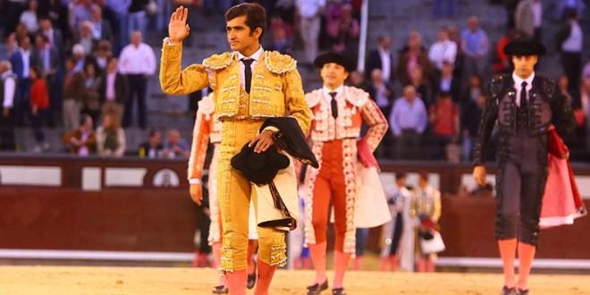 Un aviso en cada toro a Adame en Madrid