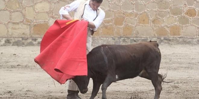 Tienta ARROYO en Coaxamalucan y mantiene el 'duende' (*Fotos*)