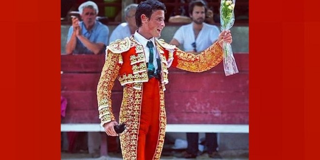 Debuta André Lagravere en Salcedo, Ecuador, el 12 de septiembre