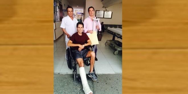 SALE SILVETI DEL HOSPITAL… ¡Y esta tarde se va a ESPAÑA!