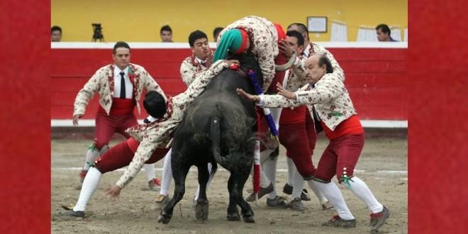 Los Forcados de Puebla, en EL RELICARIO