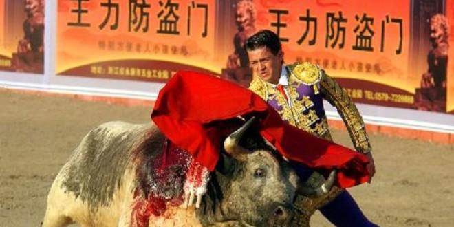 Toros mexicanos de SAN  MARCOS, en septiembre… ¡en CHINA!