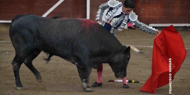 Antonio Mendoza y Roca Rey por encima del ganado en MORELIA
