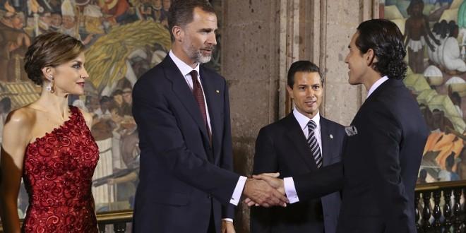 Silveti, representante del toreo MEXICANO con los REYES de ESPAÑA (*fotos*)