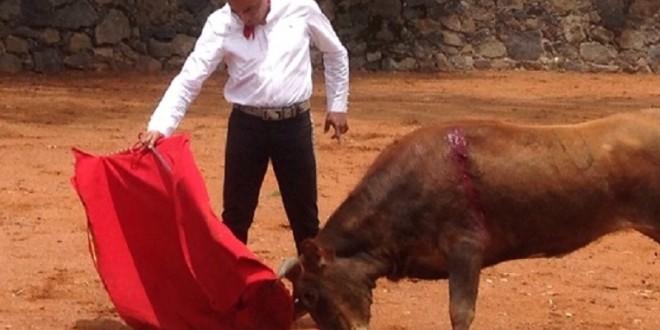 Tienta 'Zotoluco' en Las Huertas; hará viaje relámpago a ESPAÑA
