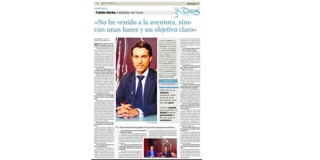 PUBLICA Diario Paletino amplia entrevista de FABIAN BARBA