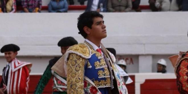 El novillero Luis Manuel Castellanos, entre MÉXICO Y ESPAÑA