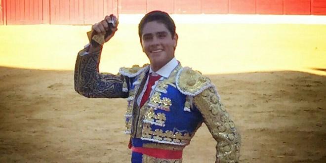 Triunfal debut de LUIS MANUEL CASTELLANOS en España