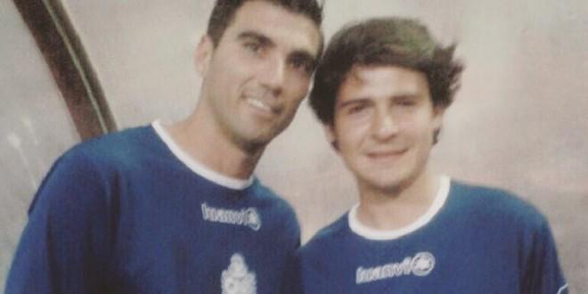 Michelito Lagravere participa en partido amistoso de futbol