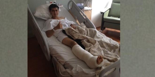 'El toro me pegó el derrote certero': SILIS (parte médico)