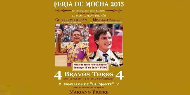 ACTUARÁ Michelito Lagravere, mano a mano, en ECUADOR