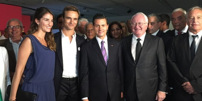 El diestro Juan Bautista se reunió con el Presidente de México EPN