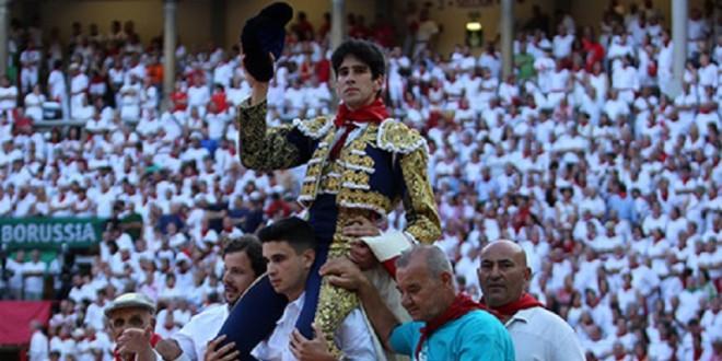 Tres orejas para el madrileño López Simón