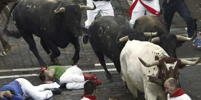 Dos heridos por asta de toro en el penúltimo Sanfermín (*Video*)